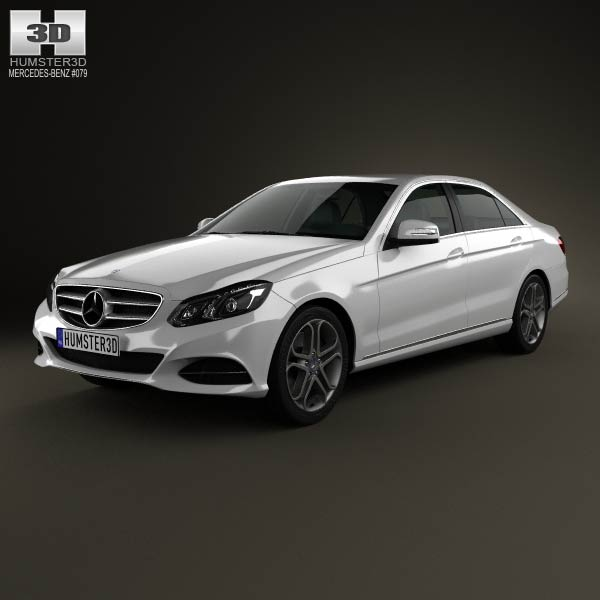 Mercedes-Benz E-class (W212) sedan 2014 3d car model