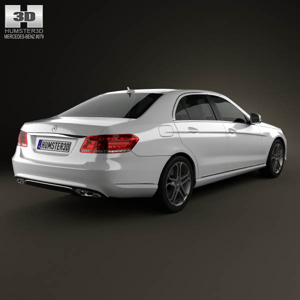 Mercedes-Benz E-class (W212) sedan 2014 3d model