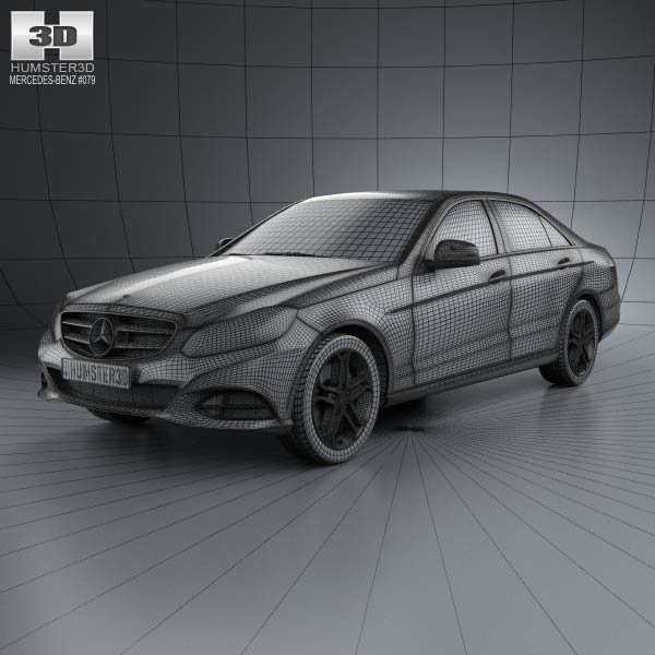 mercedes benz e class w212 sedan 2014 3d model humster3d. Cars Review. Best American Auto & Cars Review