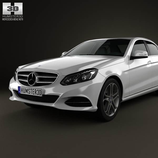 Mercedes benz e class w212 sedan 2014 3d model humster3d for Mercedes benz different models