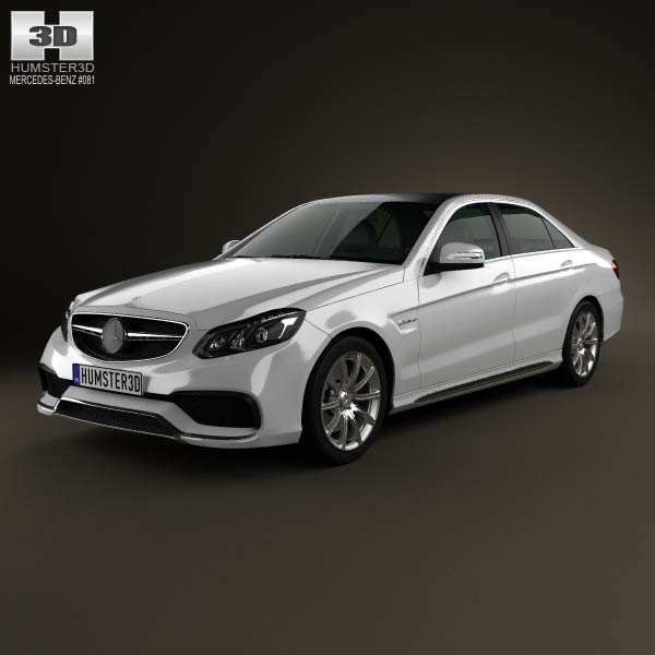 Mercedes-Benz E-Class 63 AMG 2014 3d car model