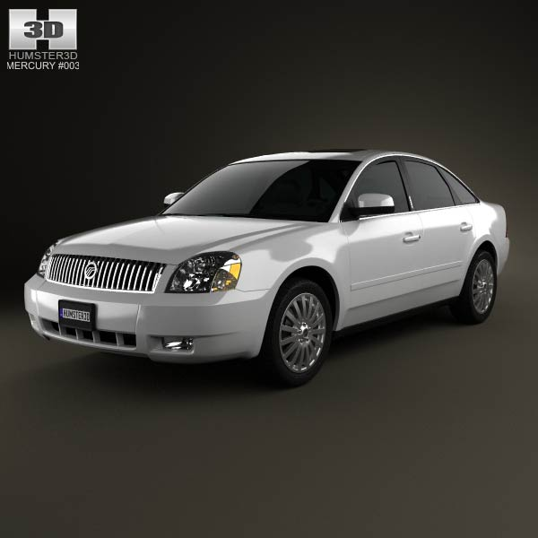 Mercury Montego 2007 3d car model