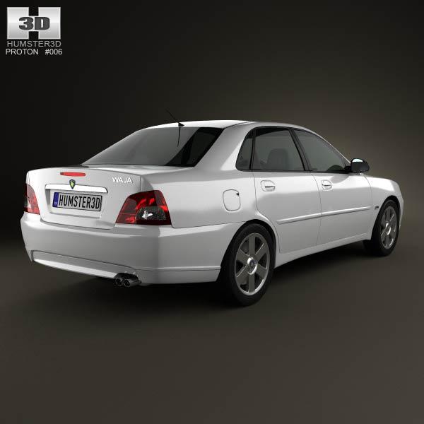 Proton Waja (Impian) 2010 3d model