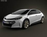 3D model of Toyota Corolla Furia 2013