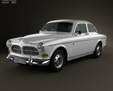 3D model of Volvo Amazon coupe 1961