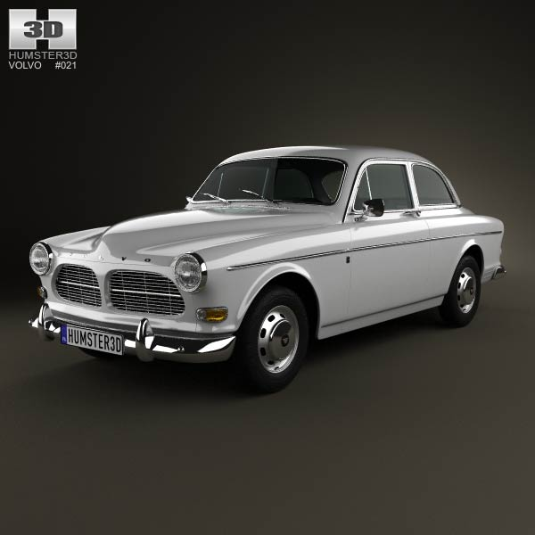 Volvo Amazon coupe 1961 3d car model
