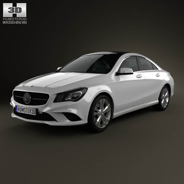 mercedes benz cla class c117 2013 3d model humster3d