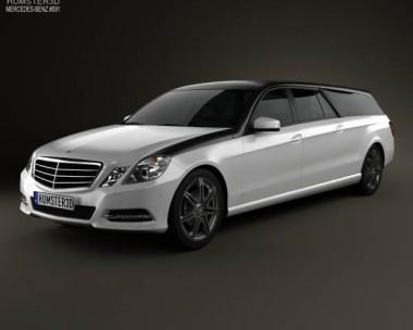 3D model of Mercedes-Benz E-Class Binz Xtend 2012