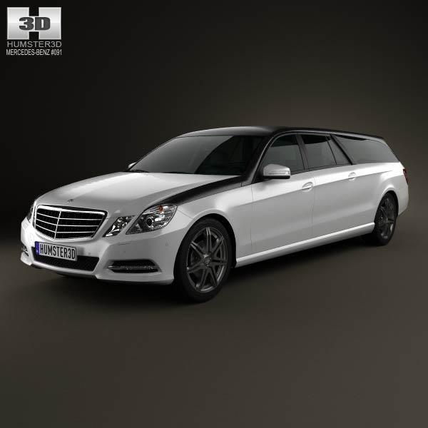 Mercedes benz e class binz xtend 2012 3d model humster3d for Mercedes benz 2012 models