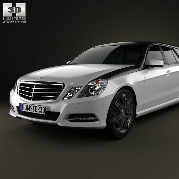 Mercedes benz e class binz xtend 2012 3d model humster3d for Mercedes benz e class models