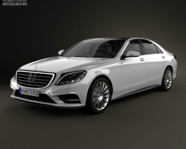 3D model of Mercedes-Benz S-Class (W222) 2014