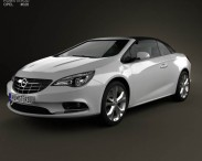 3D model of Opel Cascada (Cabrio) 2013