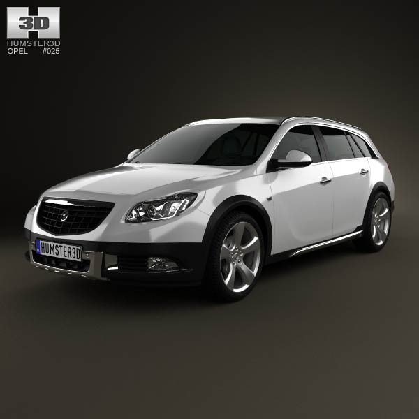 Opel Insignia Cross Four 2013 3d model