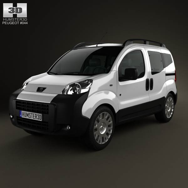 Peugeot Bipper Tepee 2011 3d car model
