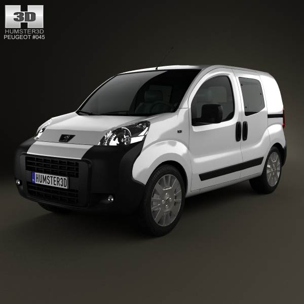 Peugeot Bipper Tepee Combi 2011 3d car model
