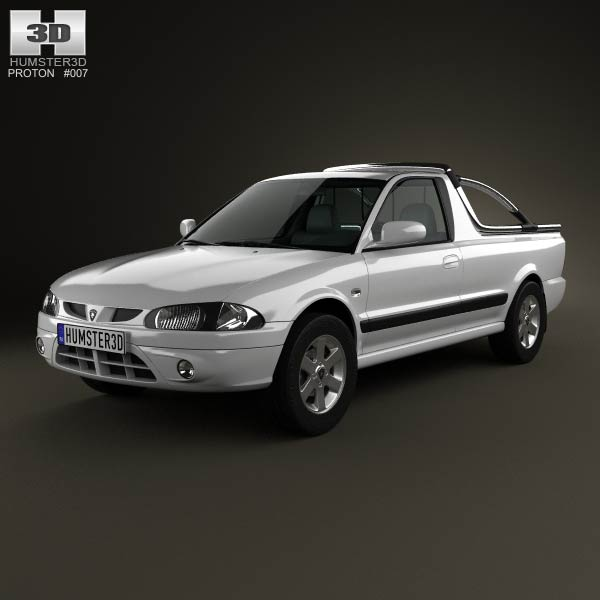 Proton Arena (Jumbuck) 2010 3d car model