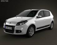 3D model of Renault Sandero (BR) 2011