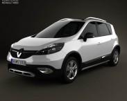 3D model of Renault Scenic XMOD 2013