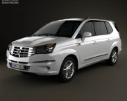3D model of SsangYong Rodius 2013