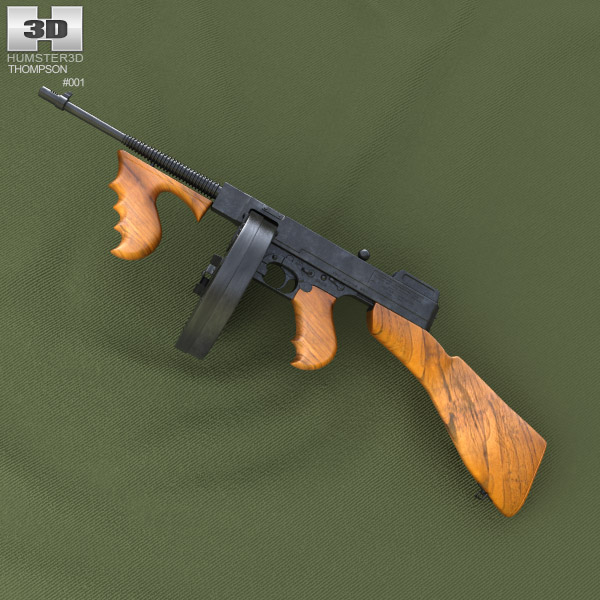 3D model of Thompson Model 1921
