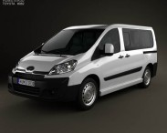 3D model of Toyota ProAce Combi L1H1 2012