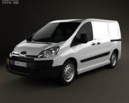 3D model of Toyota ProAce Van L1H1 2012