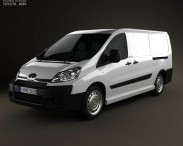 3D model of Toyota ProAce Van L2H1 2012