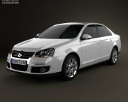 3D model of Volkswagen Jetta (A5) 2010