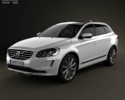 3D model of Volvo XC60 2014