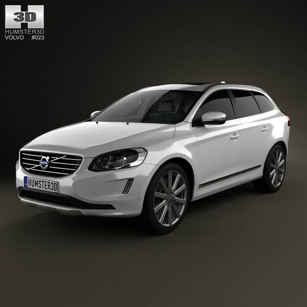 volvo xc60 2014 3d model humster3d. Black Bedroom Furniture Sets. Home Design Ideas