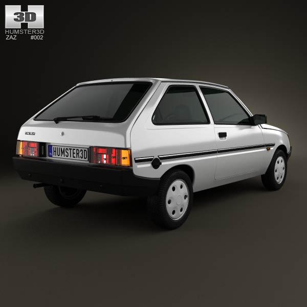 ZAZ Tavria (1102) 1990 3d model