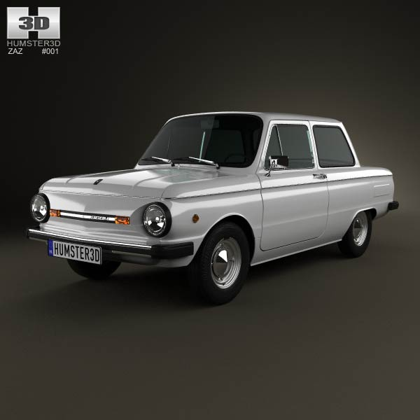 ZAZ 968M Zaporozhets 1979 3d car model