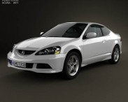 3D model of Acura RSX Type-S 2005