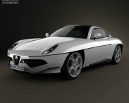 3D model of Alfa Romeo Disco Volante Touring 2013