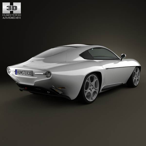 Alfa Romeo Disco Volante Touring 2013 3d model