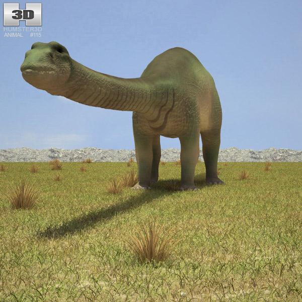 Apatosaurus 3d model