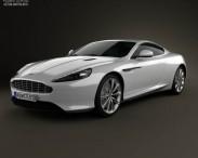 3D model of Aston Martin DB9 2013