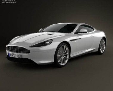 3D model of Aston Martin DB9 2013