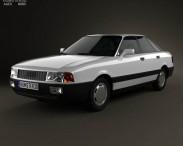 3D model of Audi 80 (B3) 1986