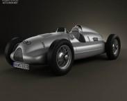 3D model of Auto Union Type D 1938