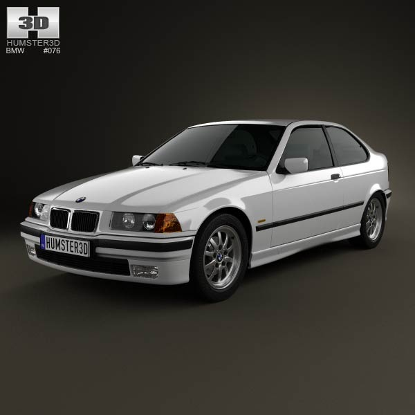 BMW 3 Series (E36) compact 1994 3d car model
