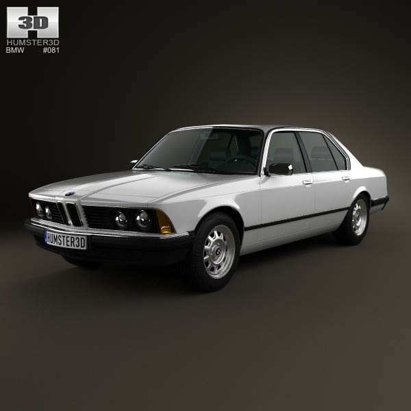 BMW 7 Series (E23) 1982 3d car model