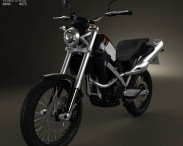 3D model of BMW G650X Country 2009