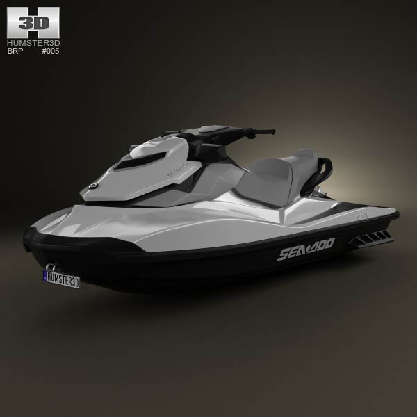 BRP Sea-Doo GTI SE 130/155 2012 3d car model