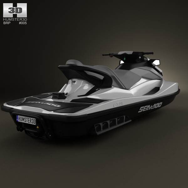 BRP Sea-Doo GTI SE 130/155 2012 3d model