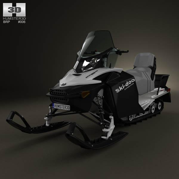 3D model of BRP Ski-Doo Expedition Sport 2012