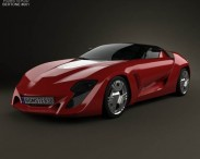 3D model of Bertone Mantide 2009