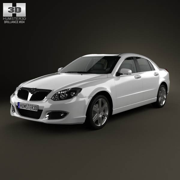 Brilliance BS4 2012 3d car model