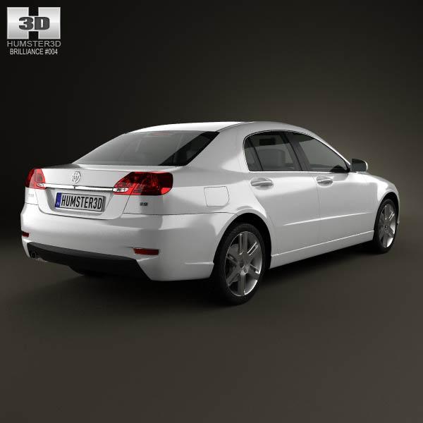 Brilliance BS4 2012 3d model