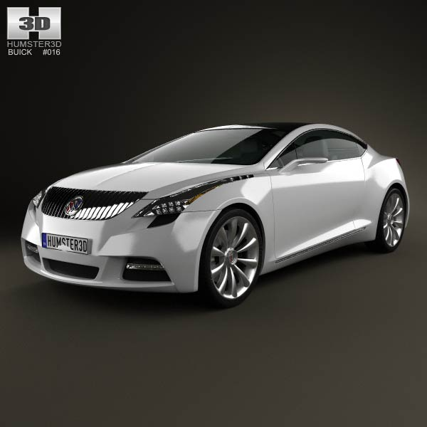Buick Riviera 2007 3d car model